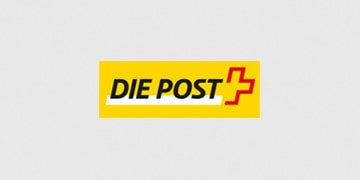 Online-Applikation Post Paketetiketten
