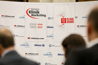 Kongress Klinikmarketing und KlinikAward 2019